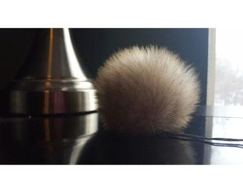 Large Bunny Faux Fur Pom Pom