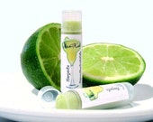 Margarita Lip Balm With Organic Ingredients and Lime Essential Oil -  Sweetened
