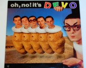 Oh, No! It's Devo - New Wave Synthpop - Warner Brothers Records 1982 - Vintage Vinyl LP Record Album