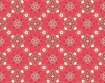 Sale! Sasparilla Red Bandana  Fabric by Riley Blake