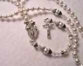 Precious Baby Christening/Baptism Traditional Pearl Rosary