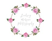 Pre-Made Floral Photography Logo