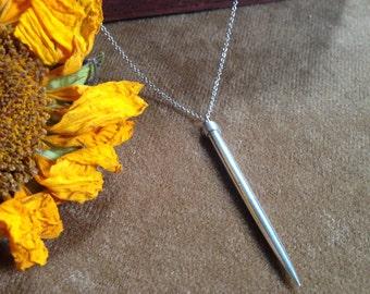 Dagger Tooth Pendulum Pendant