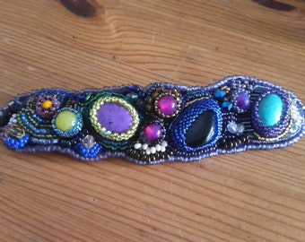 Unique bead bracelet -  fully handmade, multicolor.  Best New Year's offer!!