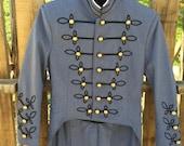 Vintage - Military - Marching Band - Uniform Jacket Size S