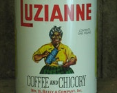Luzianne African American collectible tin