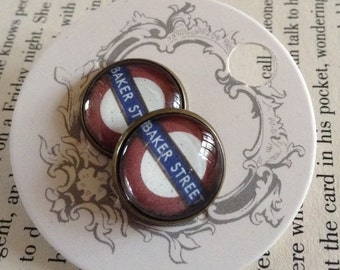 Baker Street Stud Earrings