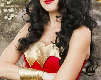Wonder Woman Wig- Black