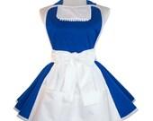 Belle Apron, Belle Running Costume Apron, Belle Costume Apron