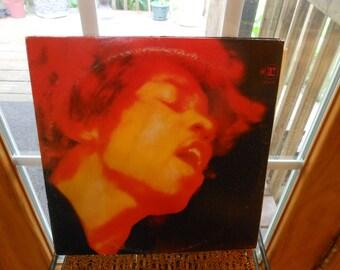 "Jimmi Hendrix original vinyl records, ""Electric Ladybird"", 2 record set complete, #6307"