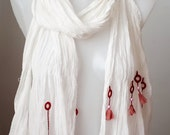 white cotton shawl,shawlstore,chic shawl,high quality handmade shawl,crochet shawl,woman shawl,gift for her,unique shawl,valentines day gift