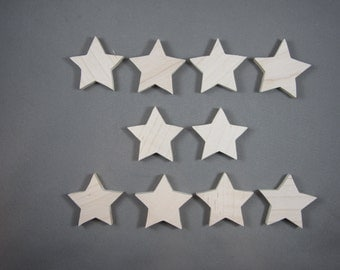 Pointed Star Cutouts (10)