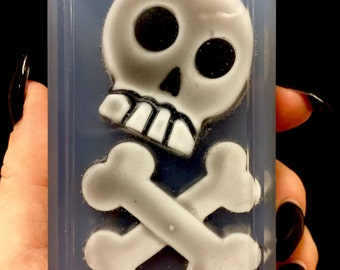 Skull and bones Body Bar Pirate Gothic Halloween Party Favors