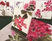 2017 Chinese Brush Painting Desk Calendar