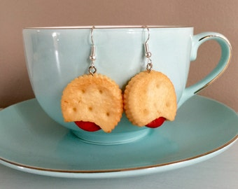 Cute Biscuit Earrings