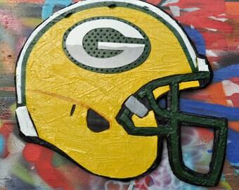 Green Bay Packers Helmet Sculpture