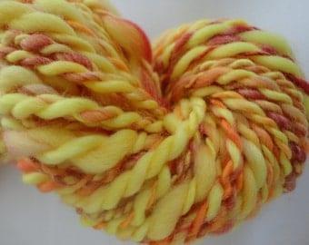 Thick & Thin Handspun Merino Top Wool
