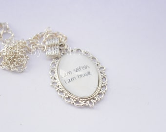 I am Selfish - Fandom Necklace
