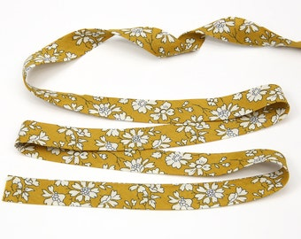 LB-CAPG5 // Liberty of London Tana Lawn Fabric Capel G // Liberty Bias Binding // Liberty of London Bias Tape