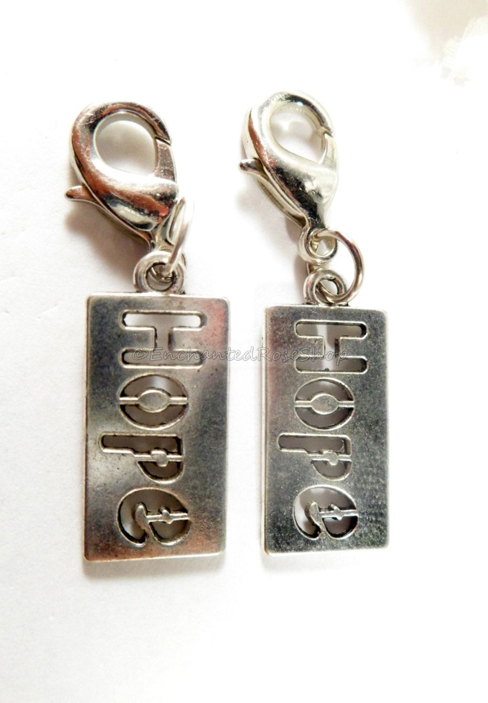 charm zipper pull keychain charm inspirational charms