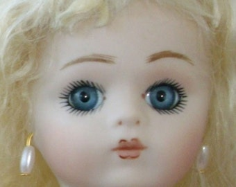 SWEET FRENCH BRU 20cm   Reproduction all Bisque Doll