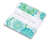 NEW - Coral Queen of the Sea Charm Pack by Stacy Iest Hsu for Moda