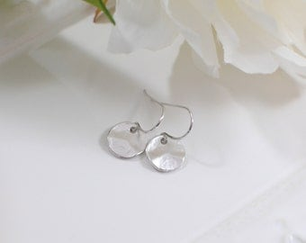 The Mika Earrings - Silver