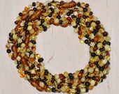 Wholesale - 10 Baltic Amber teething necklaces for babies - Best quality Amber necklaces
