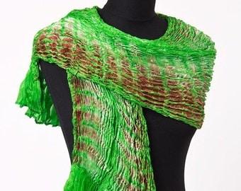 Shibori Batik Scarf