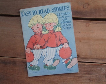 Children's Stories James and Jonathan Company 1946 Easy To Read