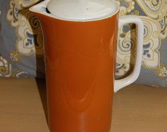 Ironstone, Harmony House, Terra, 4257, coffee pot, china, dishes,