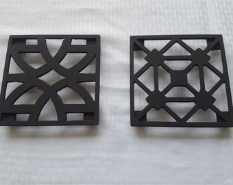 Metal Trivets - Set of 2