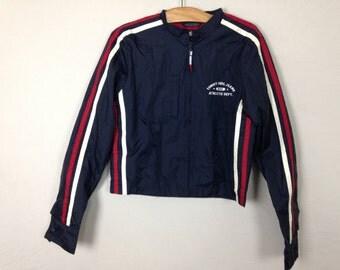 90s tommy hilfiger windbreaker jacket size S