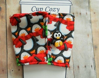 Penguin Coffee Cozy