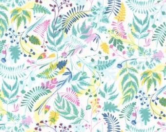 Dear Stella - Life Aquatic Sea Floral Stella - 498 Multi/White