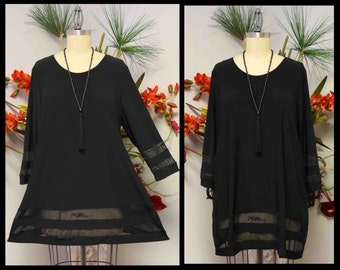 Dare2bstylish Designer European Cut, Chic tunic for Office, Party,Travel and Much More. M to 3XL