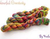Colourful Sparkle Sock Mini - Crazy Rainbow