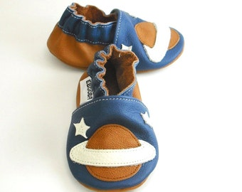 soft sole baby shoes leather infant kids children girl boy gift space 18 24 m ebooba  35-4