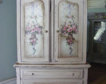 French style linen closet