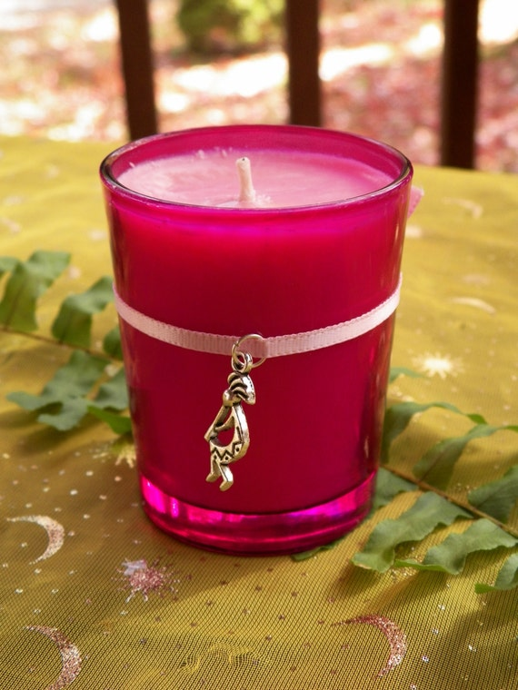 Fertility Candle Soy Hand Made Conception Pregnancy Ritual Candle