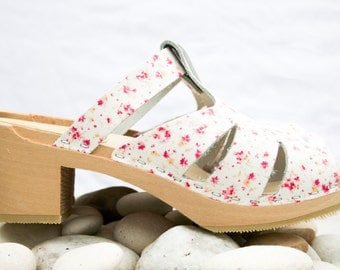 Cloudberry's Ann-Britt Swedish Clog Sandals