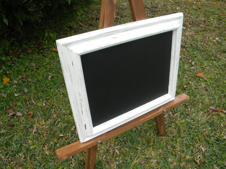 White Framed Chalkboard Farmhouse Chalkboard Wedding