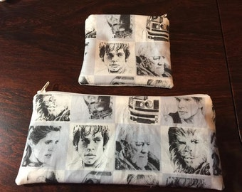 Star Wars Coin Purse or Pencil/Makeup Bag
