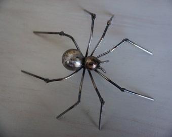 Metal Spider Sculpture
