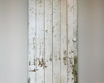 Farmhouse Door   Board And Batten   Rustic Wooden Door   Primitive Antiques    Batten Door