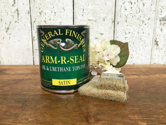 Arm R Seal - General Finishes - Clear Wood Sealer - Wood Finish - Oil Based Polyurethane - Antique Restoration