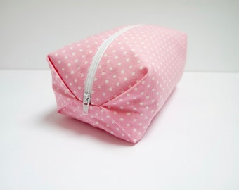Cosmetic Bag/Boxed Zipper Pouch/Pencil Case/Make Up Bag/Gadget Bag
