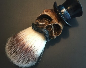Tophat Shaving Brush (Original Black)