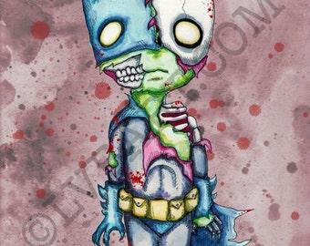 Zom-Bat Fine Art Print