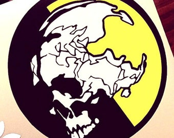 Metal Gear Solid Decal